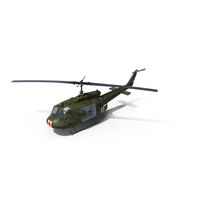 Bell UH-1 Iroquois MedEvac PNG & PSD Images