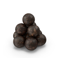 Old Cannonballs PNG & PSD Images