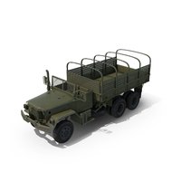 Cargo Truck M35 PNG & PSD Images