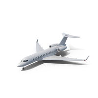 Business Jet Global 6000 PNG & PSD Images