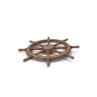 Old Ship Wheel PNG & PSD Images