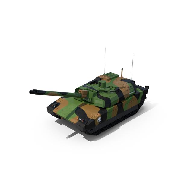 AMX 56 Leclerc French Main Battle Tank PNG & PSD Images