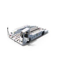Airport Container Pallet Transporter PNG & PSD Images
