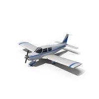Civil Utility Aircraft Piper PA 28 Cherokee PNG & PSD Images