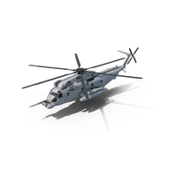 Sikorsky MH-53 Pave Low USAF PNG & PSD Images
