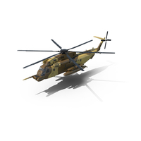 Combat Helicopter Sikorsky MH-53 Pave Low III PNG & PSD Images