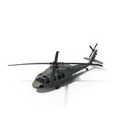 Sikorsky UH-60 Black Hawk Helicopter PNG & PSD Images