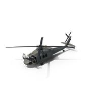 Sikorsky UH-60 Black Hawk US Helicopter PNG & PSD Images