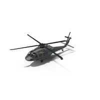 Sikorsky UH-60 Black Hawk US Military Utility Helicopter PNG & PSD Images