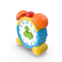 Toy Alarm Clock PNG & PSD Images
