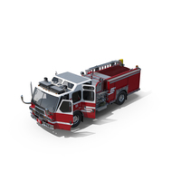 Eastside Fire Rescue E-One Quest Pumper PNG & PSD Images