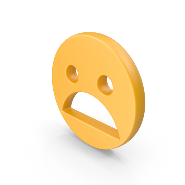 Panicked Face Symbol PNG & PSD Images