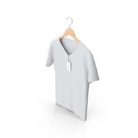 Male V-Neck on Hanger PNG & PSD Images