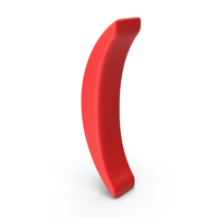 Red parenthesis Symbol PNG & PSD Images