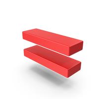 Red Equal Symbol PNG & PSD Images