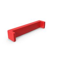 Red Open Bracket Symbol PNG & PSD Images