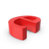 Red Small Letter E PNG & PSD Images