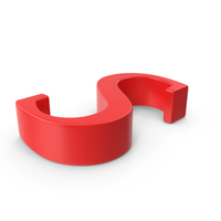 Red Capital Letter S PNG & PSD Images