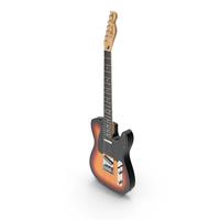 Fender Telecaster Sunburst PNG & PSD Images