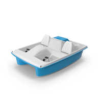 Water Wheeler Pedal Boat PNG & PSD Images