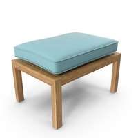 Square Outdoor Ottoman PNG & PSD Images