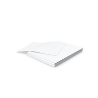 Small Stack of Paper PNG & PSD Images