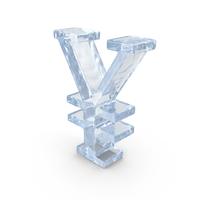 Ice Yuan Symbol PNG & PSD Images