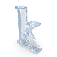 Ice Small Letter k PNG & PSD Images