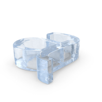 Ice Letter Lowercase A PNG & PSD Images