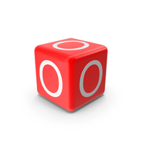 Red O Block PNG & PSD Images