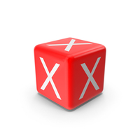 Red X Block PNG & PSD Images