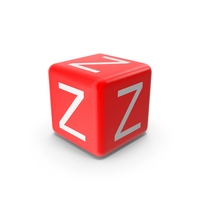Red Z Block PNG & PSD Images