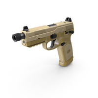 FN FNX-45 Tactical PNG & PSD Images