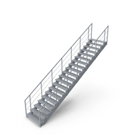 Industrial Staircase PNG & PSD Images