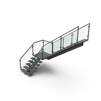 Commercial Staircase PNG & PSD Images