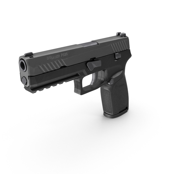 SIG SAUER P320 Full Size PNG & PSD Images
