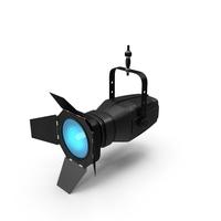 Blue Fresnel Lantern PNG & PSD Images