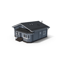 Grey Timber Cottage PNG & PSD Images