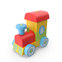 Toy Train PNG & PSD Images
