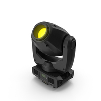 Yellow Spot Stage Light PNG & PSD Images