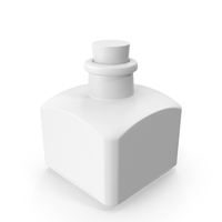 Monochrome Old Glass Bottle PNG & PSD Images