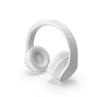 Monochrome Headphones PNG & PSD Images