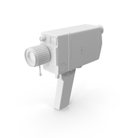 Monochrome 8mm Camera PNG & PSD Images