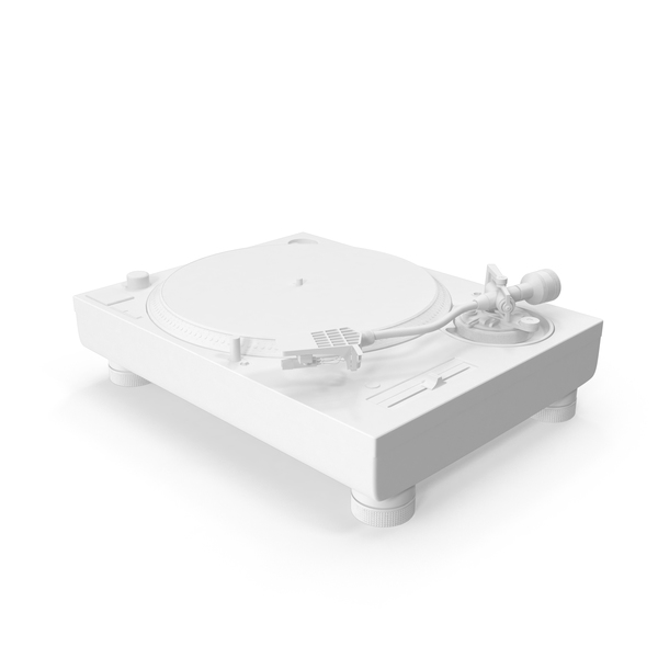Monochrome Turntable PNG & PSD Images