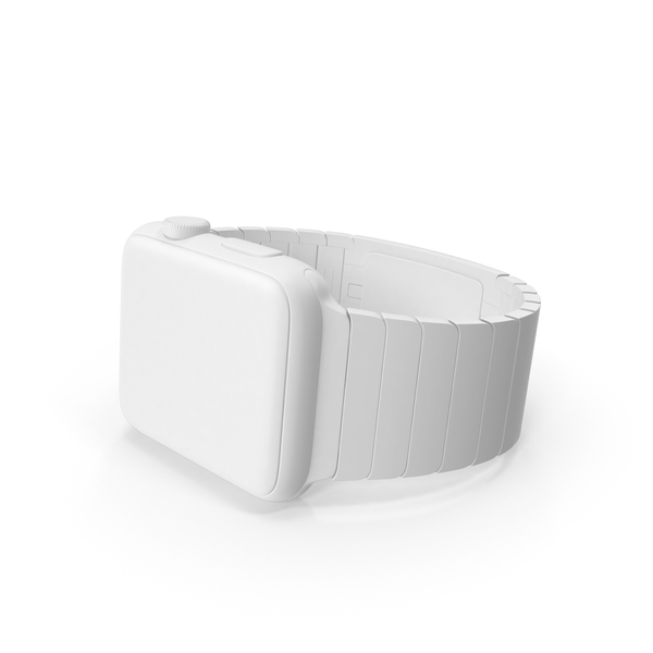 Monochrome Apple Watch PNG & PSD Images