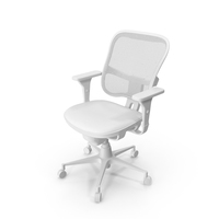 Monochrome Office Chair PNG & PSD Images