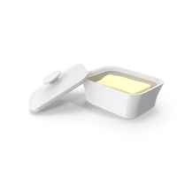 Butter Dish PNG & PSD Images