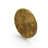 Gold Coin Dirty PNG & PSD Images