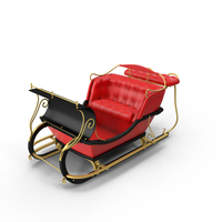 Santa's Sleigh PNG & PSD Images