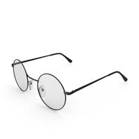 Round Vintage Glasses PNG & PSD Images